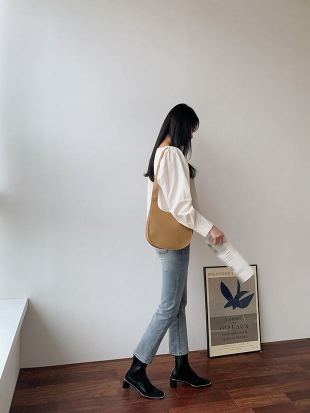 Bước đầu tiên để nàng công sở đưa style lên tầm cao mới chính là ghim 5 công thức diện boots sau - Ảnh 14.