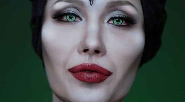 Netizen Hàn ngả mũ bái phục Risabae với màn cosplay thành Maleficent siêu đỉnh cao - Ảnh 2.
