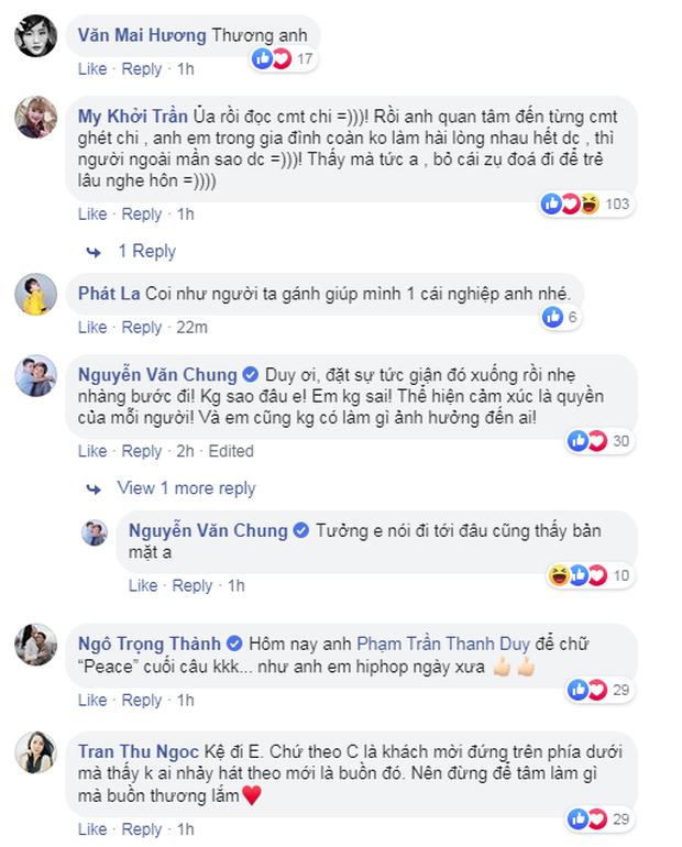 Cựu trưởng nhóm Mây Trắng động viên Thanh Duy sau khi bị ném đá: Không ai nhảy hát theo mới là buồn đó - Ảnh 4.