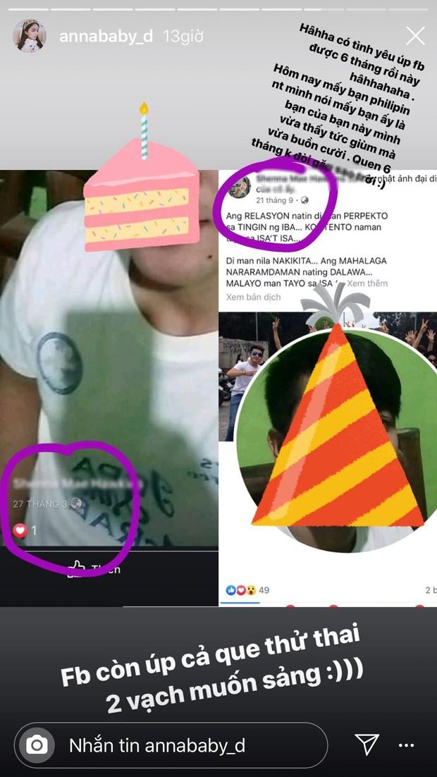 Thánh sống ảo ở Philippines chôm ảnh Trang Anna đăng Facebook suốt 2 năm, shock nhất tung tin có thai như đúng rồi - Ảnh 4.