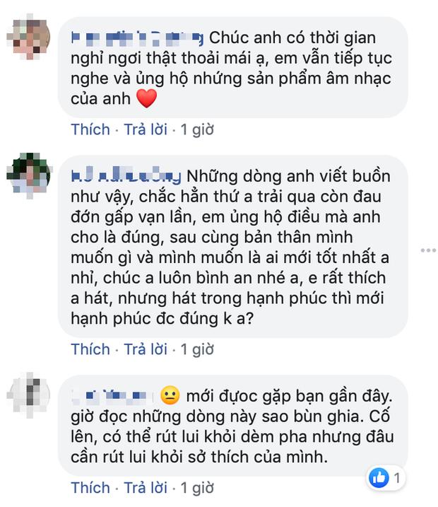 Hakoota Dũng Hà tuyên bố giải nghệ, Lê Hiếu, Ái Phương và loạt sao Vpop bày tỏ sự hụt hẫng và tiếc nuối cho tài năng của nam nghệ sĩ - Ảnh 9.