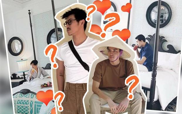 Xuất hiện hình ảnh Quang Đại mặc đồ đôi, bị fan bắt gặp vào khách sạn với Thiên Minh - hội mê trai đẹp lại được dịp đẩy thuyền  - Ảnh 4.
