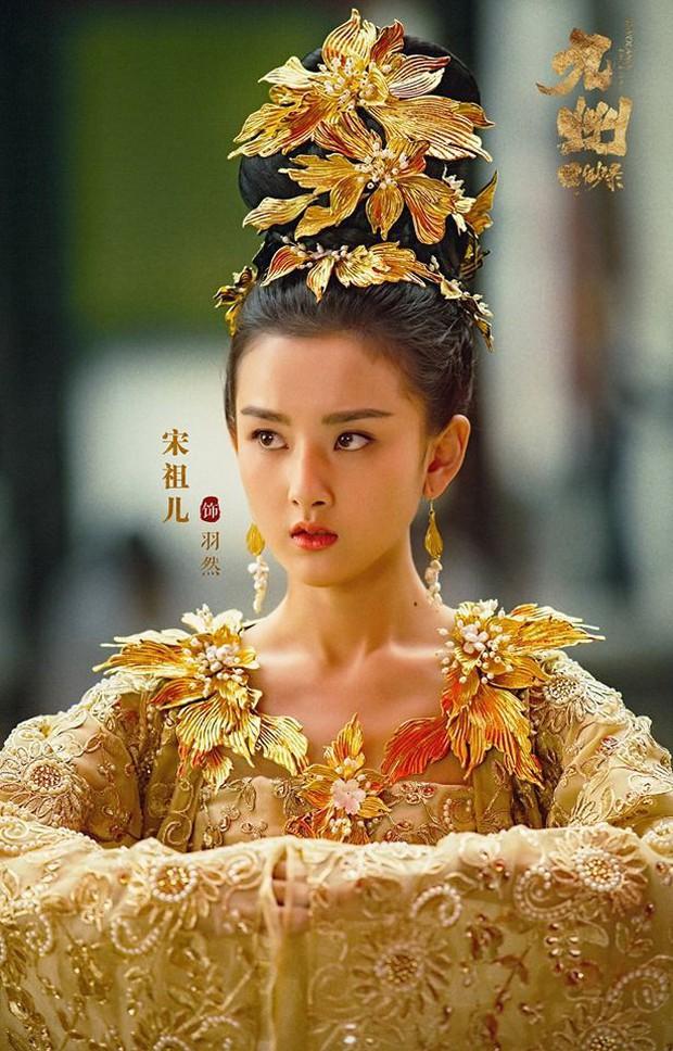10 tạo hình cổ trang đẹp nhức nách của sao Hoa Ngữ 9x: Địch Lệ Nhiệt Ba thắng tuyệt đối, Dương Tử cũng thường thôi - Ảnh 9.