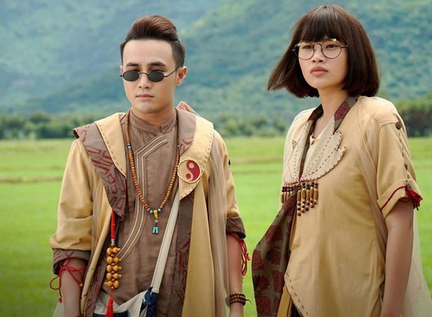 Makeup Halloween theo phong cách phim Việt: Có cả ma nữ kem trộn của Hoa Hồng Trên Ngực Trái - Ảnh 6.