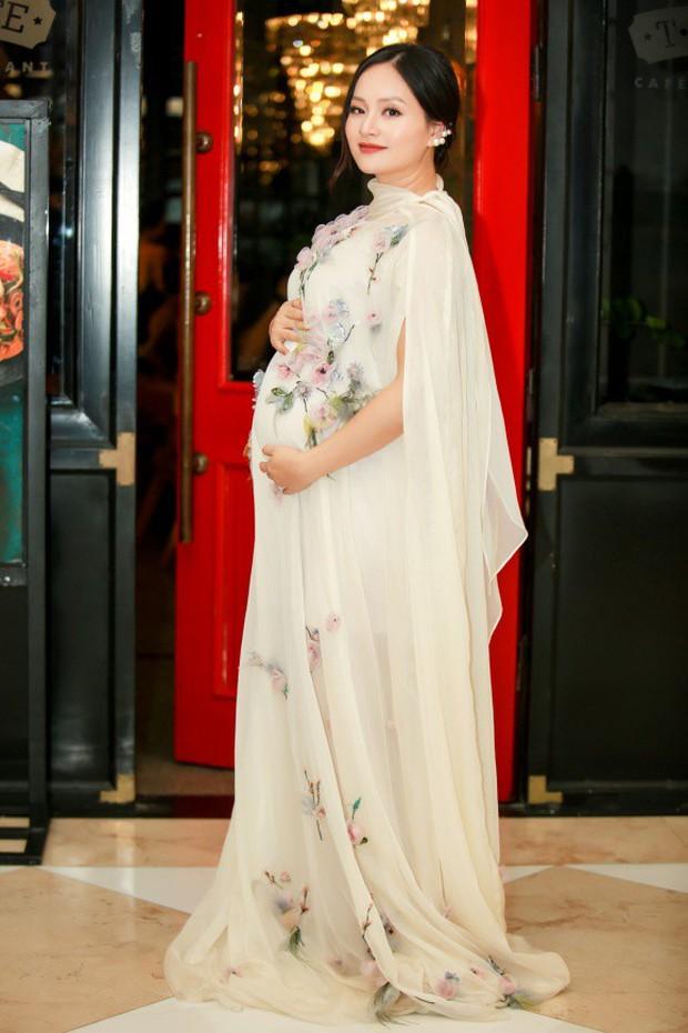 Đẳng cấp các mẹ bầu hot nhất Vbiz: Hack dáng đỉnh cao, tháng cuối thai kỳ vẫn múa cột, sexy hết cỡ mới chịu - Ảnh 8.
