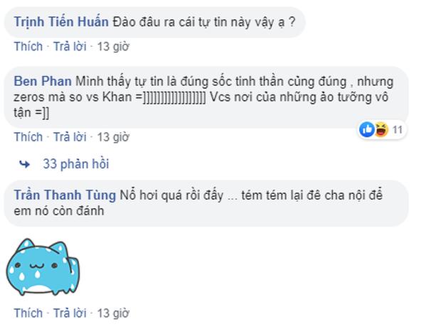 Tinikun gáy cực khét: Zeros đánh hay hơn Khan, cộng đồng LMHT Việt chẳng dám tin nhưng chắc cũng ưng cái bụng - Ảnh 5.