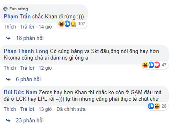 Tinikun gáy cực khét: Zeros đánh hay hơn Khan, cộng đồng LMHT Việt chẳng dám tin nhưng chắc cũng ưng cái bụng - Ảnh 2.