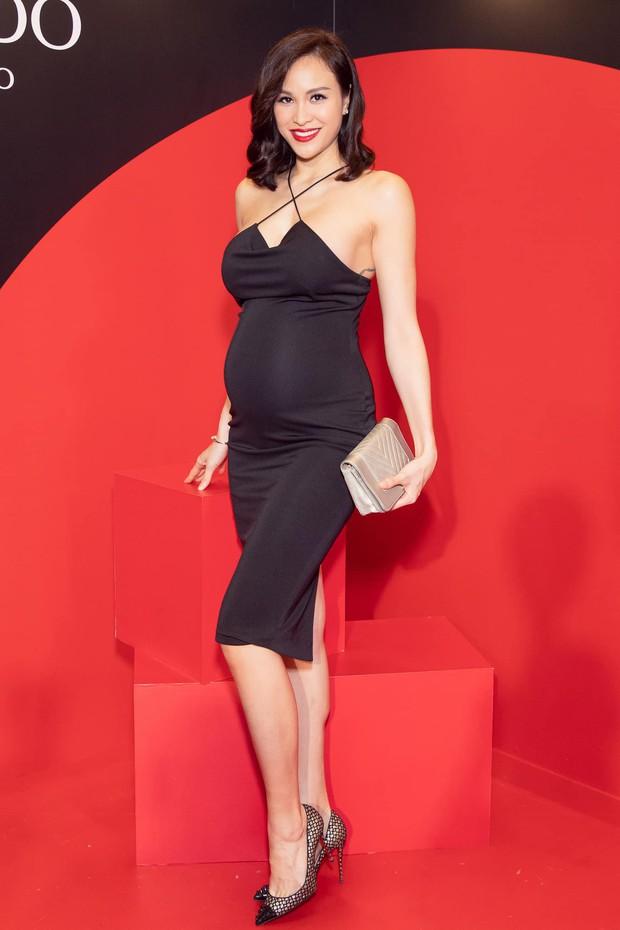 Đẳng cấp các mẹ bầu hot nhất Vbiz: Hack dáng đỉnh cao, tháng cuối thai kỳ vẫn múa cột, sexy hết cỡ mới chịu - Ảnh 3.