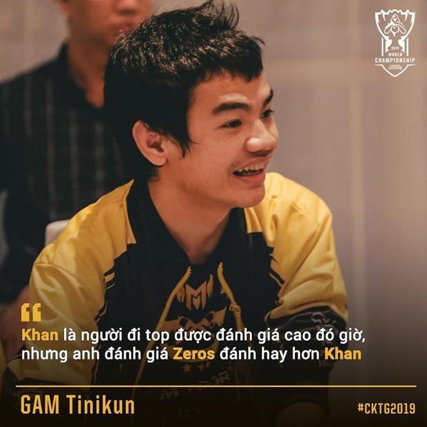 Tinikun gáy cực khét: Zeros đánh hay hơn Khan, cộng đồng LMHT Việt chẳng dám tin nhưng chắc cũng ưng cái bụng - Ảnh 1.