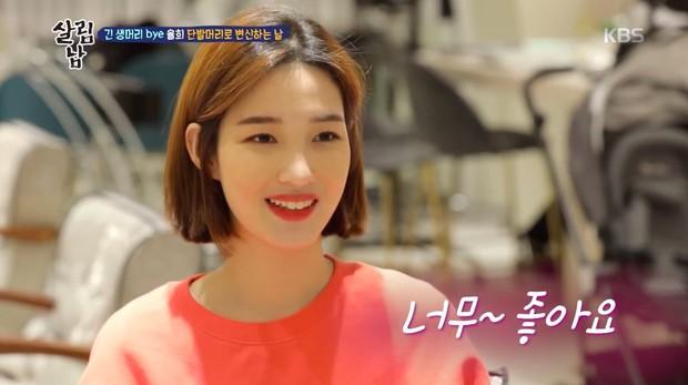 Minhwan (F.T. Island) khiến dân mạng phát sốt vì phản ứng khi thấy vợ trẻ cắt tóc ngắn - Ảnh 4.