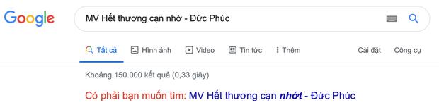 Lên Google tìm kiếm MV mới của Đức Phúc mà lại ra tên Hết Thương Cạn Nhớt thế này, bảo sao Đức Phúc leo Top Trending đầy chật vật - Ảnh 1.