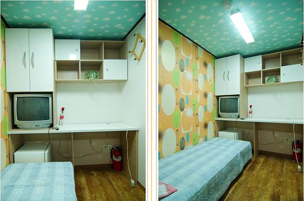 Đột nhập Goshiwon - phòng trọ giá siêu rẻ, bé như hộp diêm chỉ dành cho sinh viên và người nghèo ở Hàn Quốc - Ảnh 7.