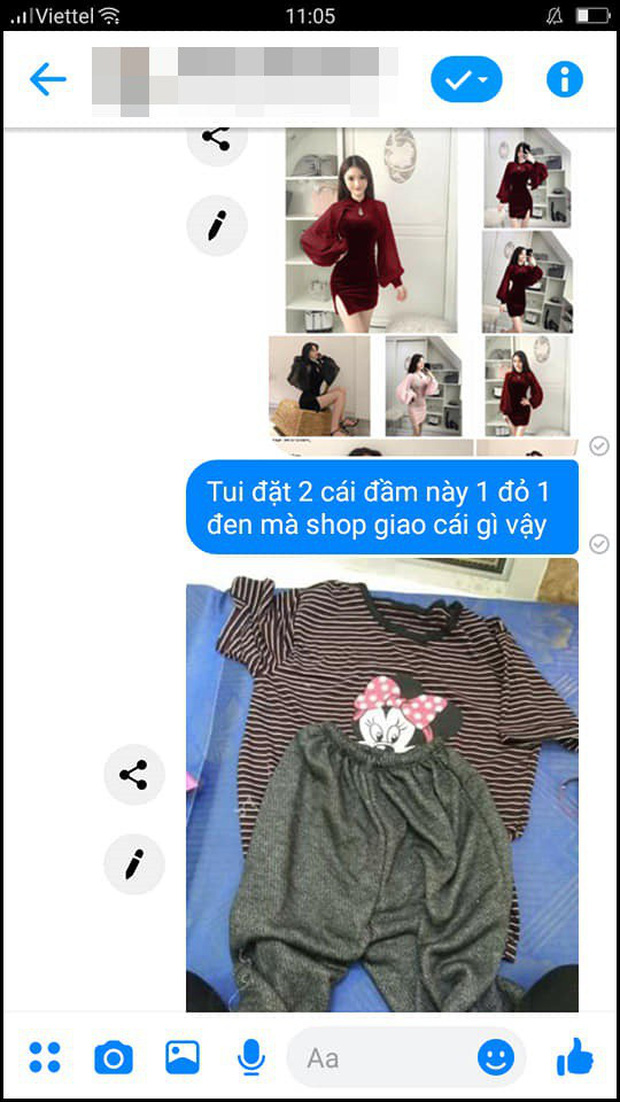 Thêm pha mua hàng online khiến dân tình cười ngất: Biết em thích váy sexy, chị ship ngay bộ đồ ở nhà hình chuột Mickey đây nhé! - Ảnh 1.