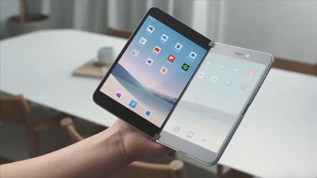 Microsoft bất ngờ ra mắt Surface Duo: Cuốn sổ tay 2 màn hình đầy tinh khôi và thanh thoát - Ảnh 1.