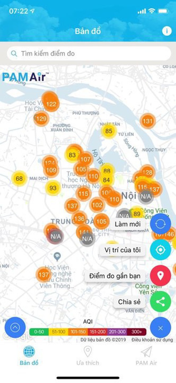 """""""Cơn mưa vàng"""" đẩy lùi màu tím của ô nhiễm không khí ở Hà Nội, mặc dù vậy đừng quên khuyến cáo từ chuyên gia! - Ảnh 1."""