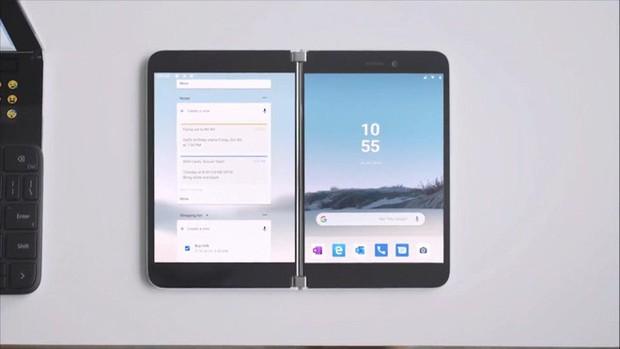 Microsoft bất ngờ ra mắt Surface Duo: Cuốn sổ tay 2 màn hình đầy tinh khôi và thanh thoát - Ảnh 5.