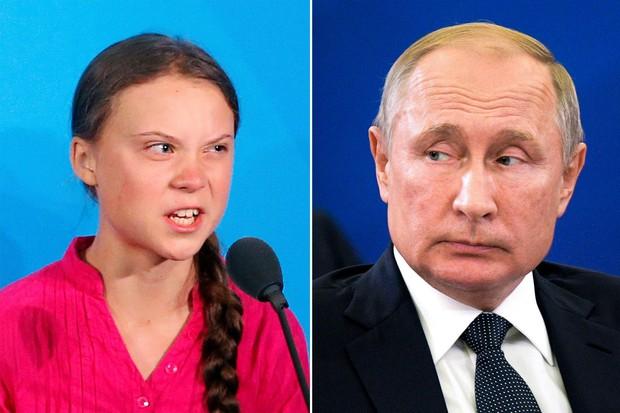 Tổng thống Nga Putin nói về bài phát biểu của Greta Thunberg: Đi mà nói điều đó với các nước đang phát triển - Ảnh 1.
