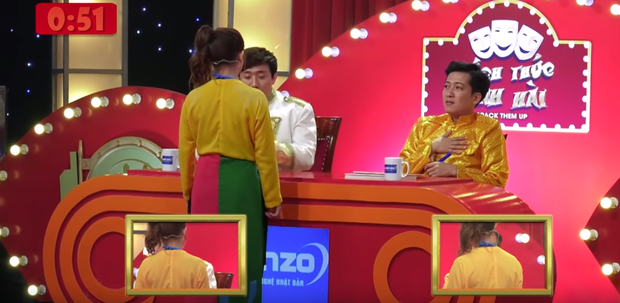 Điểm danh những cú tát trên show thực tế: Trấn Thành khó chịu, Trường Giang tát cả... Nhã Phương - Ảnh 5.