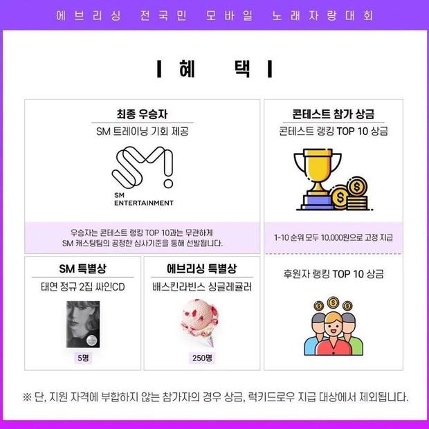 Mở cuộc thi tìm bản sao của Taeyeon mà giải thưởng chỉ là 200 nghìn đồng, SM đang đùa à? - Ảnh 2.