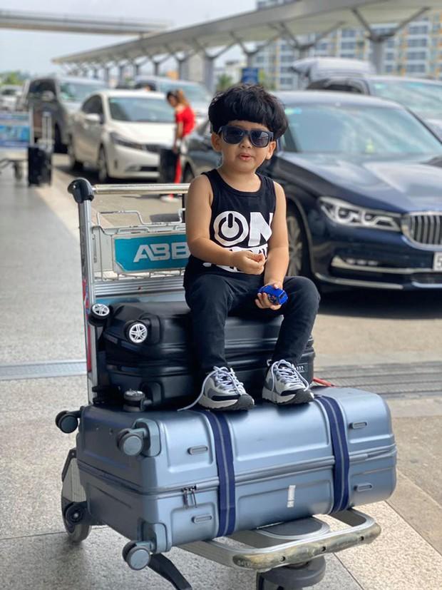 Ngọc Lan lại gây chú ý khi 1 mình đi du lịch cùng con trai mà không có Thanh Bình hậu phủ nhận đang trục trặc hôn nhân - Ảnh 3.