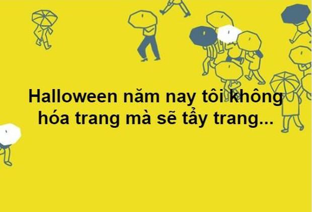Hóa ra tin nhắn đòi nợ từ ngân hàng, không có bồ, deadline,... chính là thứ đáng sợ nhất Halloween năm nay - Ảnh 10.