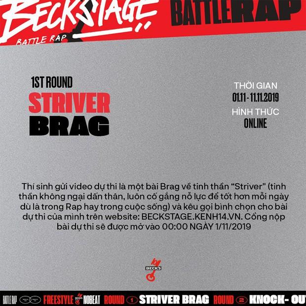 BeckStage Battle Rap: cổng gửi bài dự thi và bình chọn đã mở, cơ hội để bạn show hết tài năng đến rồi đây! - Ảnh 1.