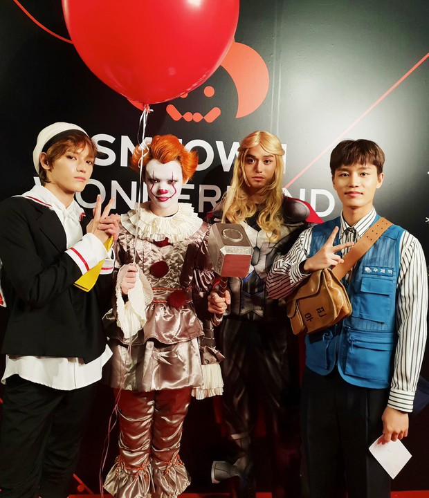 Idol Hàn bắt trend phim hot vào Halloween: TWICE khiến fan sốc nặng, độ chịu chơi nhà SM không ai đọ lại - Ảnh 9.