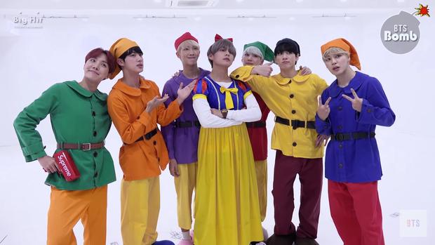 Idol Hàn bắt trend phim hot vào Halloween: TWICE khiến fan sốc nặng, độ chịu chơi nhà SM không ai đọ lại - Ảnh 16.