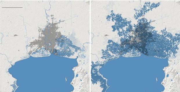 """Thời báo New York Times đưa tin: """"Toàn bộ miền nam Việt Nam có thể chìm trong nước biển vào năm 2050"""" - Ảnh 2."""