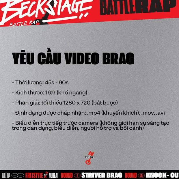 BeckStage Battle Rap: cổng gửi bài dự thi và bình chọn đã mở, cơ hội để bạn show hết tài năng đến rồi đây! - Ảnh 3.