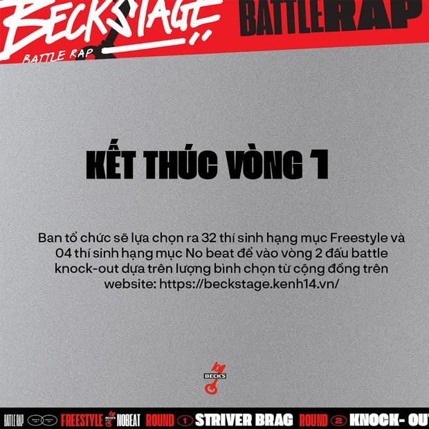 BeckStage Battle Rap: cổng gửi bài dự thi và bình chọn đã mở, cơ hội để bạn show hết tài năng đến rồi đây! - Ảnh 4.