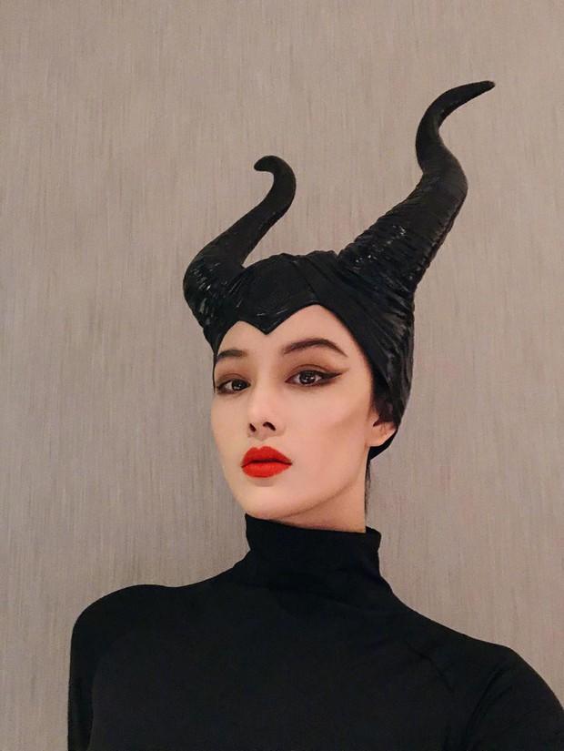 Dàn sao Cbiz cosplay Halloween: Không ai nhận ra Lâm Tâm Như - Tô Hữu Bằng, xuất sắc nhất chính là Trương Hinh Dư - Ảnh 5.