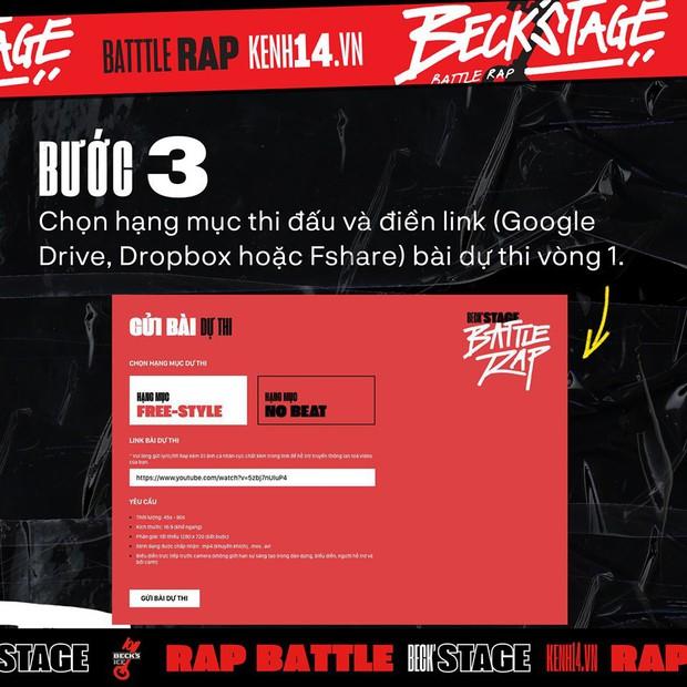 BeckStage Battle Rap: cổng gửi bài dự thi và bình chọn đã mở, cơ hội để bạn show hết tài năng đến rồi đây! - Ảnh 7.