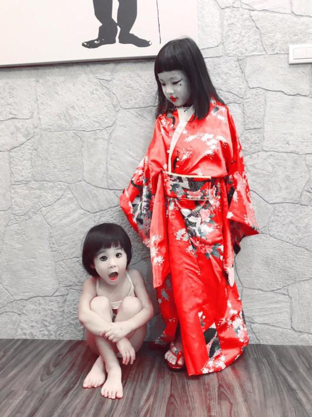 Cô bé Vô Diện năm nào giờ đã lớn bổng, tiếp tục tái xuất với màn hóa trang Halloween cực độc - Ảnh 4.