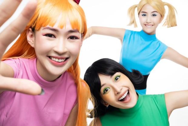 Chi Pu, Quỳnh Anh Shyn, Sunht cosplay thành ba cô nàng siêu nhân: Halloween chơi lớn vậy rồi ai đọ lại mấy chị? - Ảnh 5.