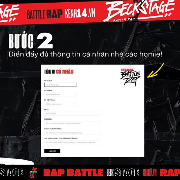 BeckStage Battle Rap: cổng gửi bài dự thi và bình chọn đã mở, cơ hội để bạn show hết tài năng đến rồi đây! - Ảnh 6.