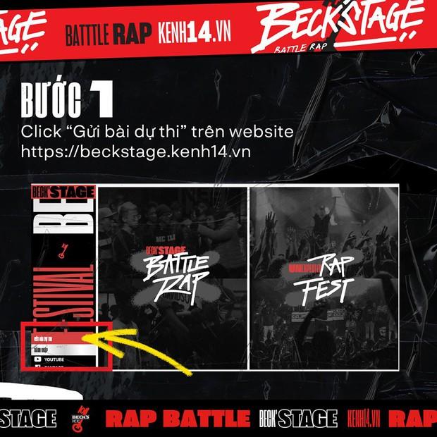 BeckStage Battle Rap: cổng gửi bài dự thi và bình chọn đã mở, cơ hội để bạn show hết tài năng đến rồi đây! - Ảnh 5.