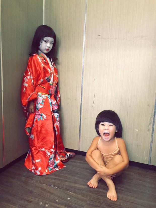 Cô bé Vô Diện năm nào giờ đã lớn bổng, tiếp tục tái xuất với màn hóa trang Halloween cực độc - Ảnh 7.