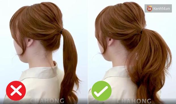 Muốn buộc tóc đuôi ngựa đẹp tựa gái Hàn thì bạn đừng bỏ qua thủ thuật giúp tóc phồng như tạo kiểu ngoài tiệm - Ảnh 1.