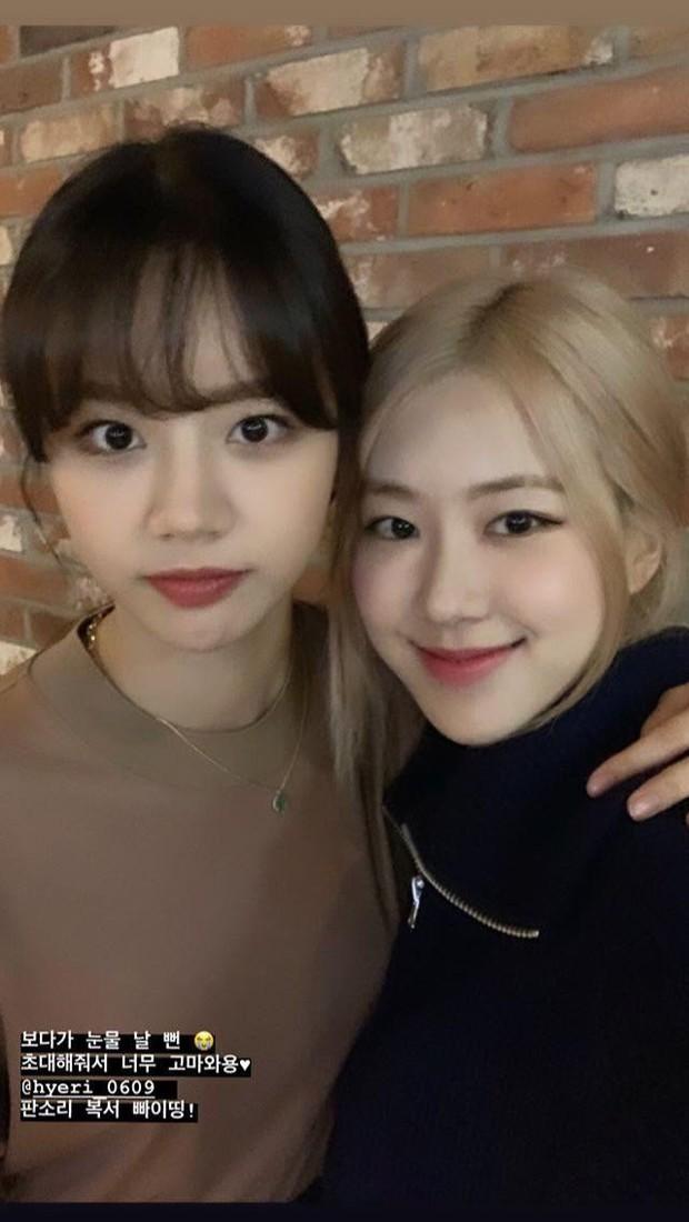 Rosé và Hyeri (Girls Day) bất ngờ hẹn hò ở nhà hàng Việt, vô tình tiết lộ món mỹ nhân BLACKPINK mê đến nghiện - Ảnh 1.