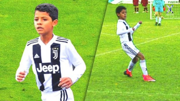Con trai Ronaldo ghi 58 bàn sau 28 trận, thiết lập kỷ lục kinh hoàng ở đội trẻ Juventus - Ảnh 1.