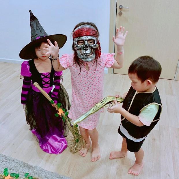 Sao Vbiz hoá trang độc đáo nhập hội Halloween, kéo đến dàn nhóc tỳ mới thích mắt vì như lạc vào thế giới phép thuật - Ảnh 11.