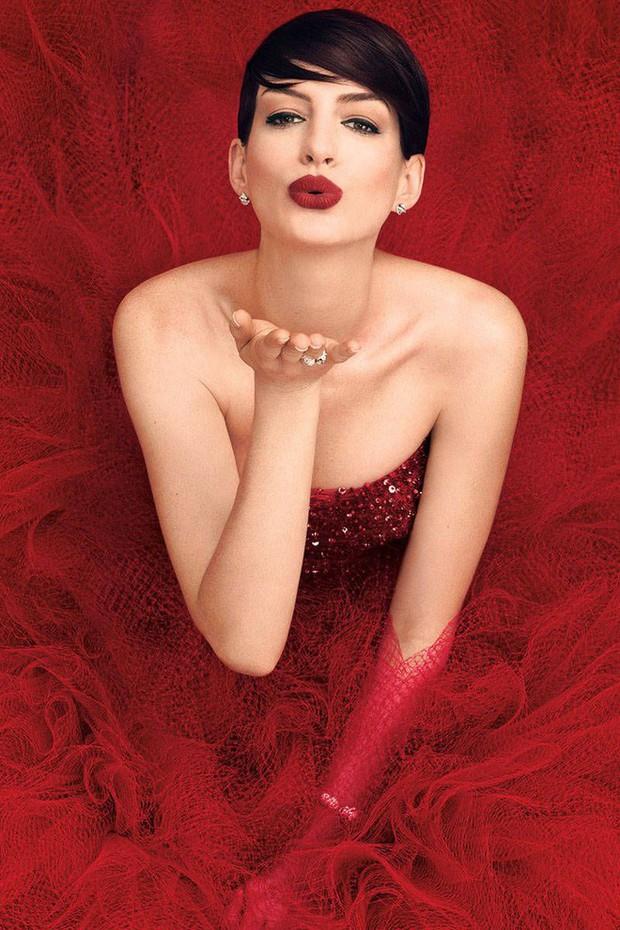 Nhan sắc nóng bỏng của nữ thần sắc đẹp đương đại Hollywood Anne Hathaway: Ngắm mà mê mẩn! - Ảnh 7.