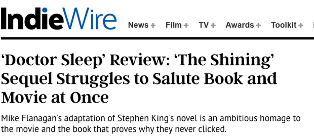 Phản ứng khán giả xem sớm Doctor Sleep: Giới phê bình chê banh xác, người dưới đất khen hết lời? - Ảnh 12.