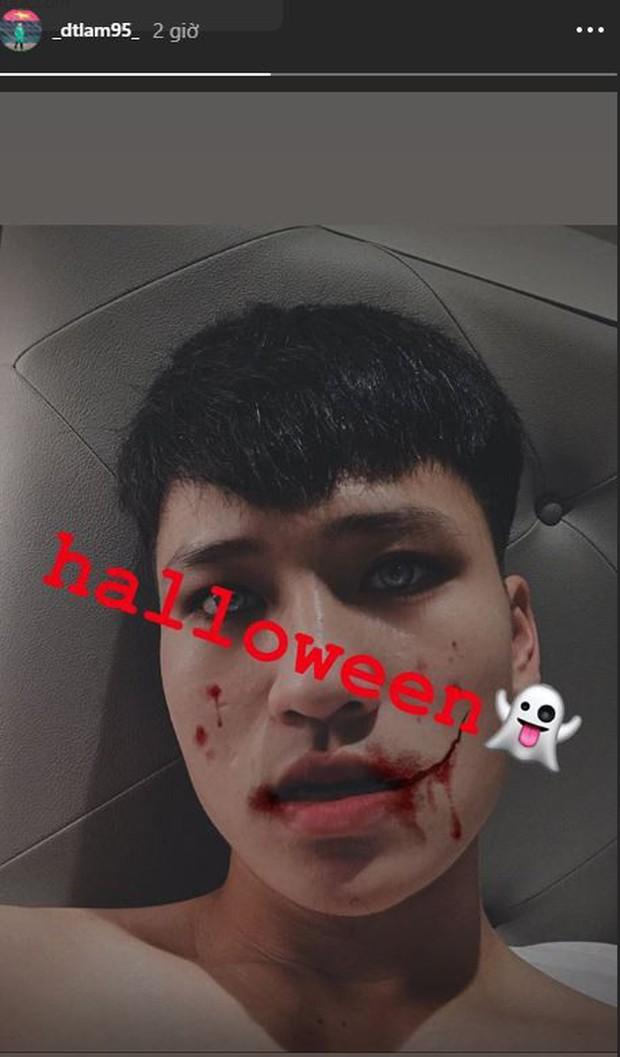 Văn Hậu, Hồng Duy hóa trang Halloween đáng sợ, người được mong chờ màn cosplay nhất lại không xuất hiện - Ảnh 4.