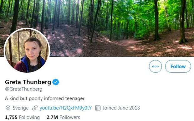 Greta Thunberg khiến dân mạng không vừa lòng khi tiếp tục dùng cách cũ để đáp trả lại tổng thống Nga - Ảnh 3.