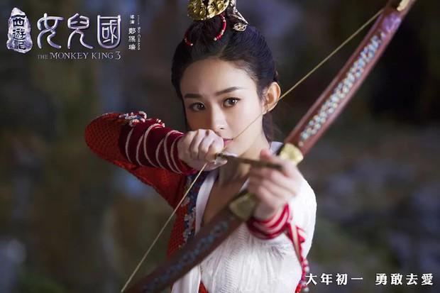 Triệu Lệ Dĩnh đóng phim với ông xã cũng không đẹp đôi bằng đàn em kém 10 tuổi Vương Nhất Bác? - Ảnh 6.
