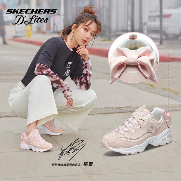 Cùng 1 dáng pose quảng cáo sneaker: Dương Mịch, Angela Baby... khoe đẳng cấp; quay sang Dương Tử bỗng tụt mood - Ảnh 8.