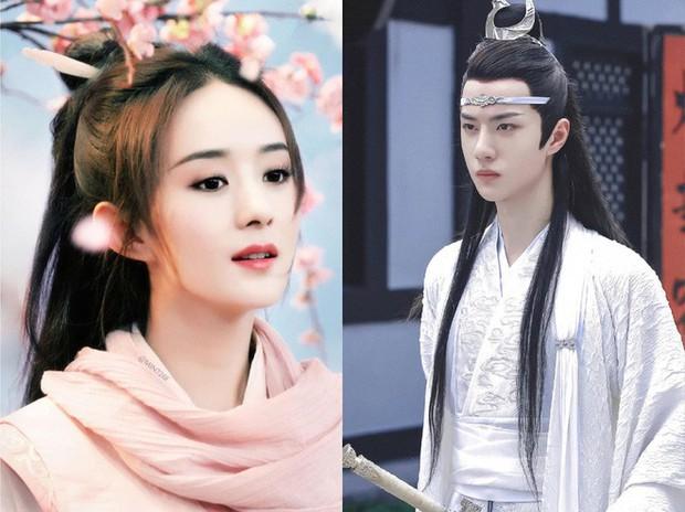 Triệu Lệ Dĩnh đóng phim với ông xã cũng không đẹp đôi bằng đàn em kém 10 tuổi Vương Nhất Bác? - Ảnh 1.