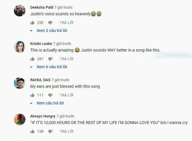 Justin Bieber hát tặng bản tình ca siêu ngọt ngào gửi tới vợ sau đám cưới: 10,000 giờ đồng hồ hay từ đây đến hết đời, anh vẫn sẽ yêu em - Ảnh 5.